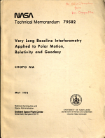 Very Long Baseline Interferometry Applied to Polar Motion, Relativity, and Geodesy
