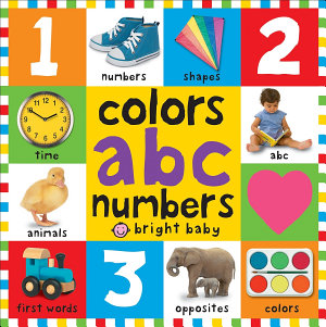 Big Board Books Colors  ABC  Numbers