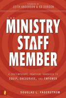 The Ministry Staff Member PDF