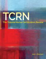 TCRN Certification Review PDF
