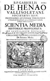 Scientia media historice propugnata