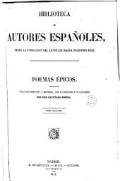 Poemas épicos: Volumen 2