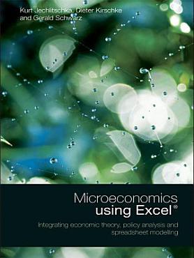 Microeconomics using Excel PDF