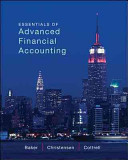 Loose Leaf Essentials of Advanced Financial Accounting PDF