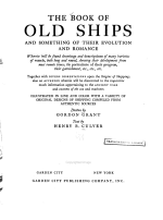 The Book of Old Ships and Something of Their Evolution and Romance
