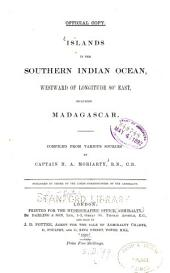 Islands in the Southern Indian Ocean, Westward of Longitude 800 East, Including Madagascar