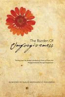 The Burden of Unforgiveness PDF