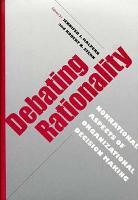 Debating Rationality PDF