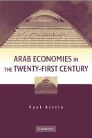 Arab Economies in the Twenty First Century PDF