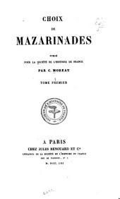 Société de l'histoire de France: Volume73,Partie1