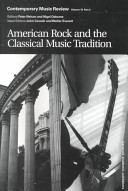 American Rock and the Classical Music Tradition PDF