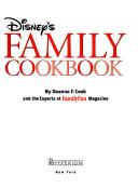 Disney's Family Cookbook