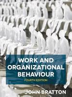 Work and Organizational Behaviour PDF