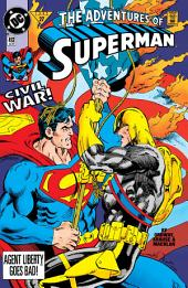Adventures of Superman (1994-) #492