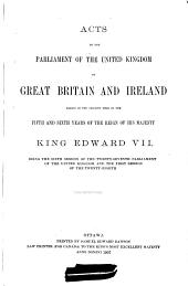 Acts of the Parliament of the United Kingdom of Great Britain and Ireland...: Volumes 1-2