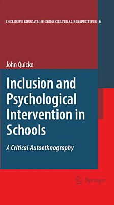 Inclusion and Psychological Intervention in Schools PDF