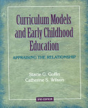 Curriculum Models and Early Childhood Education PDF