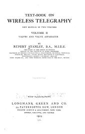 Text-book on wireless telegraphy: Volume 2
