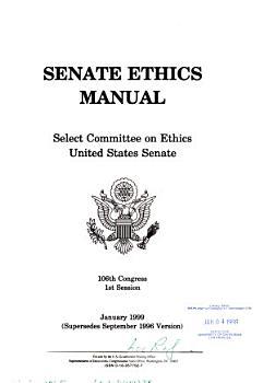 Senate Ethics Manual PDF