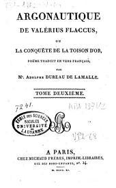 Caii Valerii Flacii Argonauticon libri octo...: Argonautique, Volume2