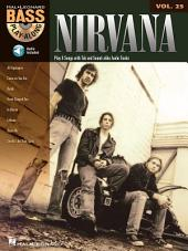 Nirvana (Songbook): Bass Play-Along, Volume 25