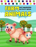 Farm Animals Dot Markers Activity Book PDF