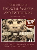 Foundations of Financial Markets and Institutions PDF