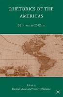 Rhetorics of the Americas PDF