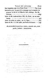 Bibliothèque universelle des sciences, belles-lettres et arts: Volume4