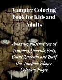 Vampire Coloring Book for Kids and Adults PDF
