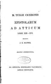 Libri XIII-XVI