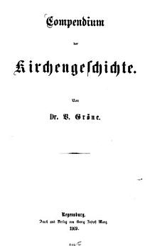 Compendium der Kirchengeschichte PDF