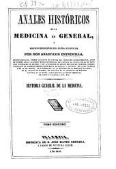 Anales históricos de la medicina en general, y biográfico-bibliográfico de la española en particular: Volumen 2