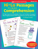 Hi-Lo Passages to Build Comprehension