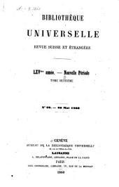 Bibliothèque universelle: revue suisse et étrangère, Volume8