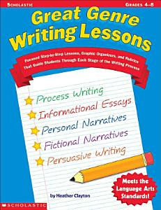 Great Genre Writing Lessons Book