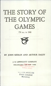 the Story of the Olympic Games  PDF