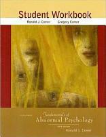 Fundamentals of Abnormal Psychology Student Workbook PDF
