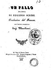 Un fallo dramma di Eugenio Scribe