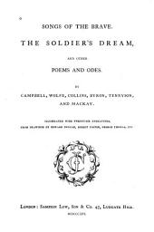 Songs of the brave: The soldier's dream, and other poems and odes