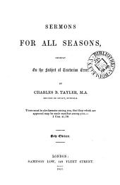 Sermons for all seasons, chiefly on the subject of tractarian error