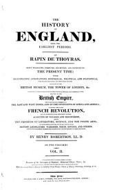 The History of England from the Earliest Periods: Volume 2