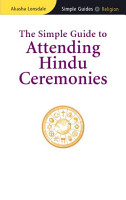 Simple Guide to Attending Hindu Ceremonies PDF