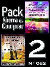 Pack Ahorra al Comprar 2 (Nº 062): Atrae el dinero con la ley de la atracción & Guía práctica para aprovechar al máximo el poder de las afirmaciones