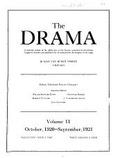The Drama Magazine ...: Volume 11