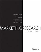 Marketing Research, 12th Edition: Edition 12