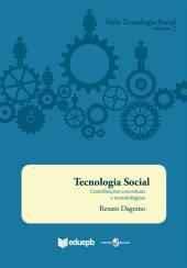 Tecnologia Social: contribuições conceituais e metodológicas