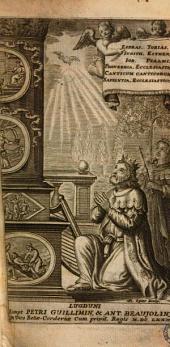 Biblia sacra vulgatae editionis Sixti V Pont. Max. Iussu recognita atque edita versiculis distincta