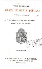 Translation of Virgil [The XIII. bukes of Eneados of the famose poete Virgill] Notes and various readings. Glossary