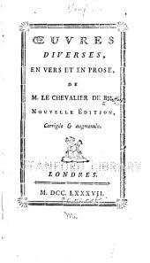 Œuvres diverses, en vers et en prose